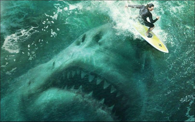 Threat of Sea Monster in The Meg