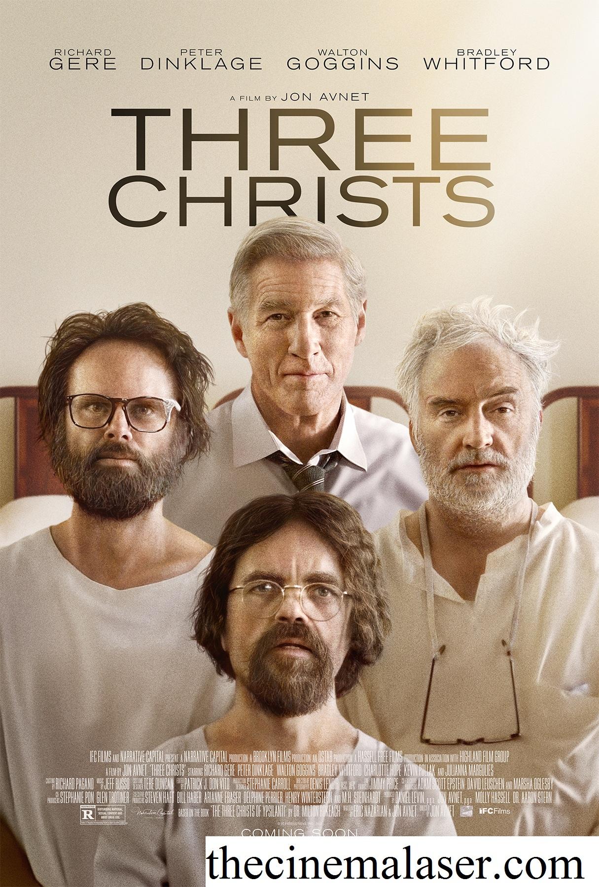 Three Christs, Film Drama Amerika Tahun 2017 Tentang 3 Pria Yang Mengaku Sebagai Tuhan